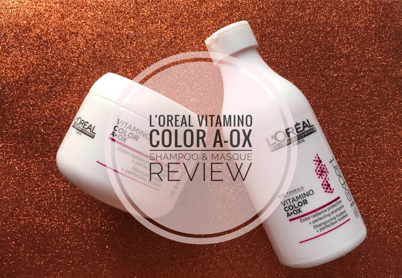 L'Oreal Professionnel Vitamino Color A-OX Shampoo & Masque