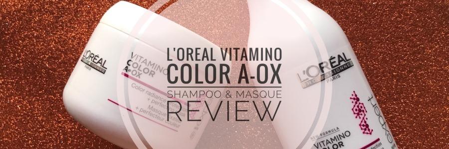 L'Oreal Professionnel Vitamino Color A-OX Shampoo & Masque