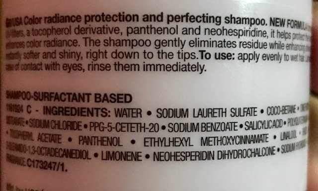 L'Oreal Professionnel Vitamino Color A-OX ShampooIngredients