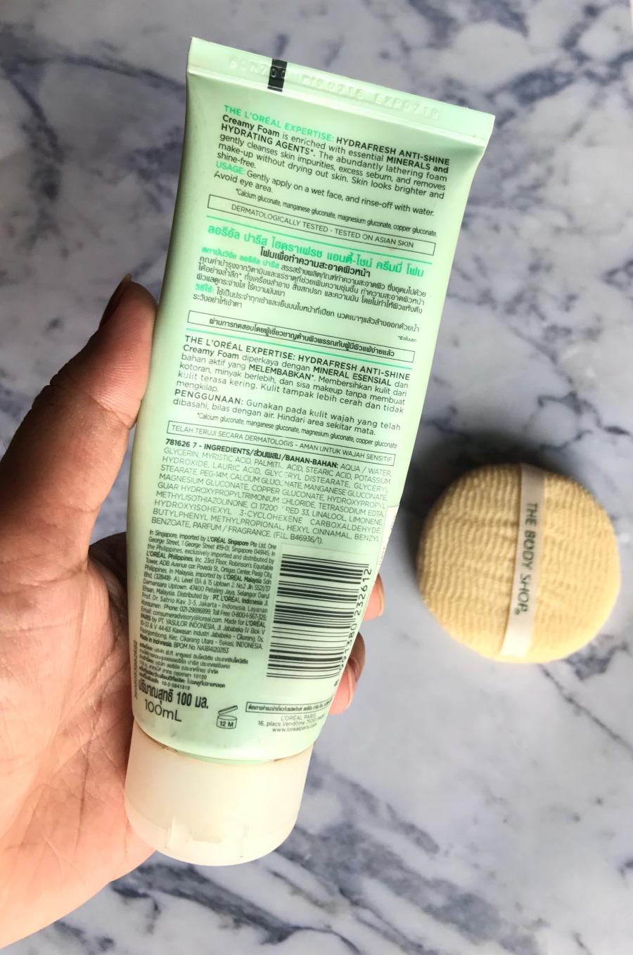 Hydrafresh Anti-Shine Creamy Foam