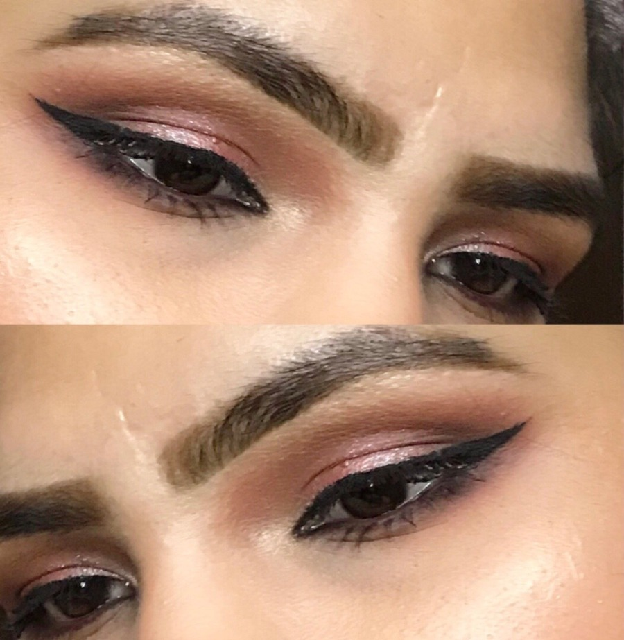 Pink shimmer eye makeup | Beginners | Hooded Eyes | for Indian brown skin | Ms Meehnia