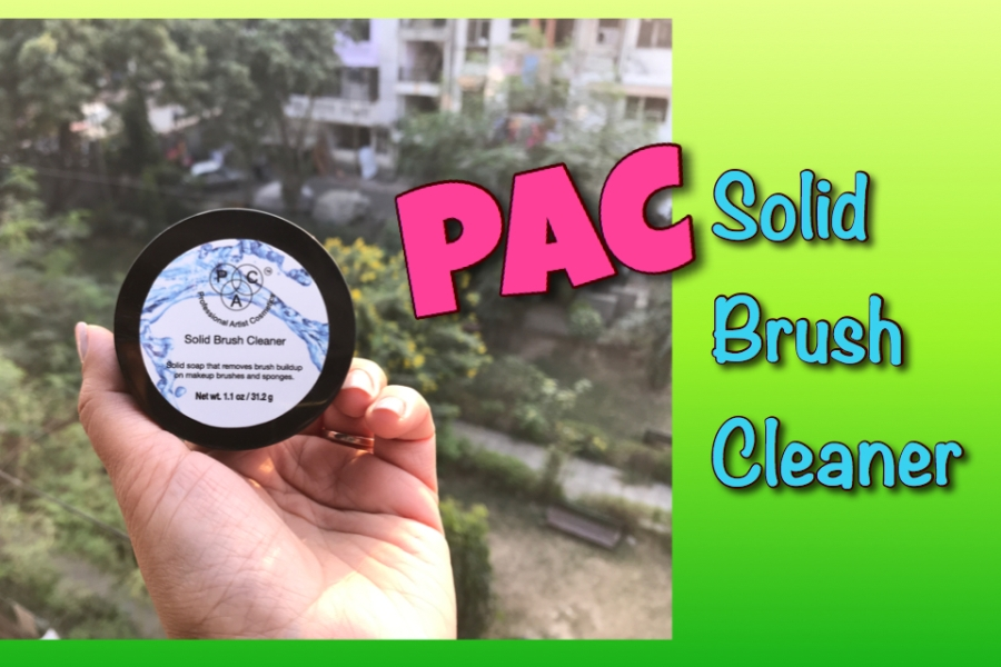 PAC Solid Brush Cleaner Review | Ms Meehnia