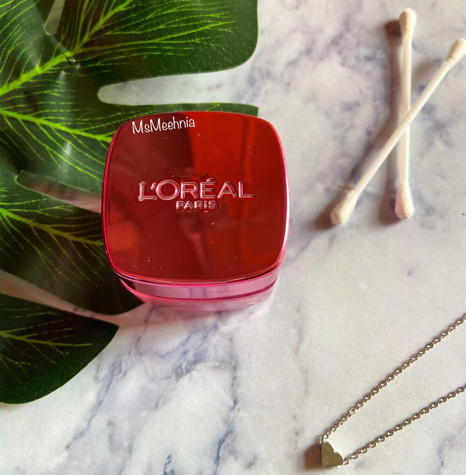 LOreal Paris Hydrafresh Anti-Ox Grape Seed Hydrating Mask-In Eye Gel Review | Ms Meehnia