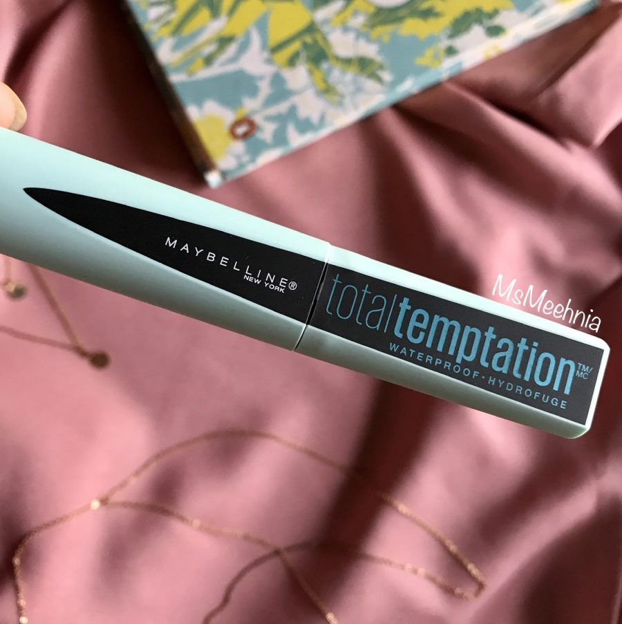 Maybelline Total Temptation Mascara Waterproof Review | Price | Ms Meehnia